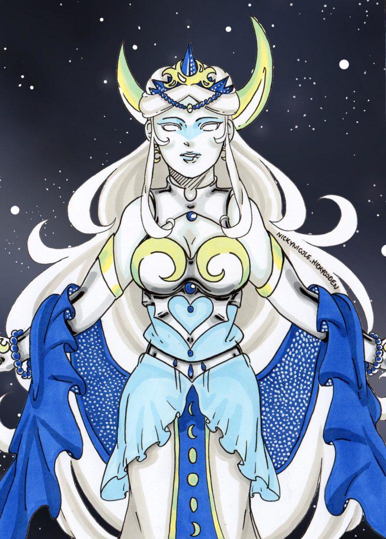 Character Design [Regina della Luna]